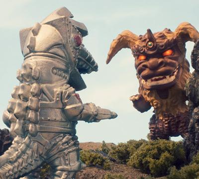 MyKaiju Godzilla | King Caesar vs MechaGodzilla