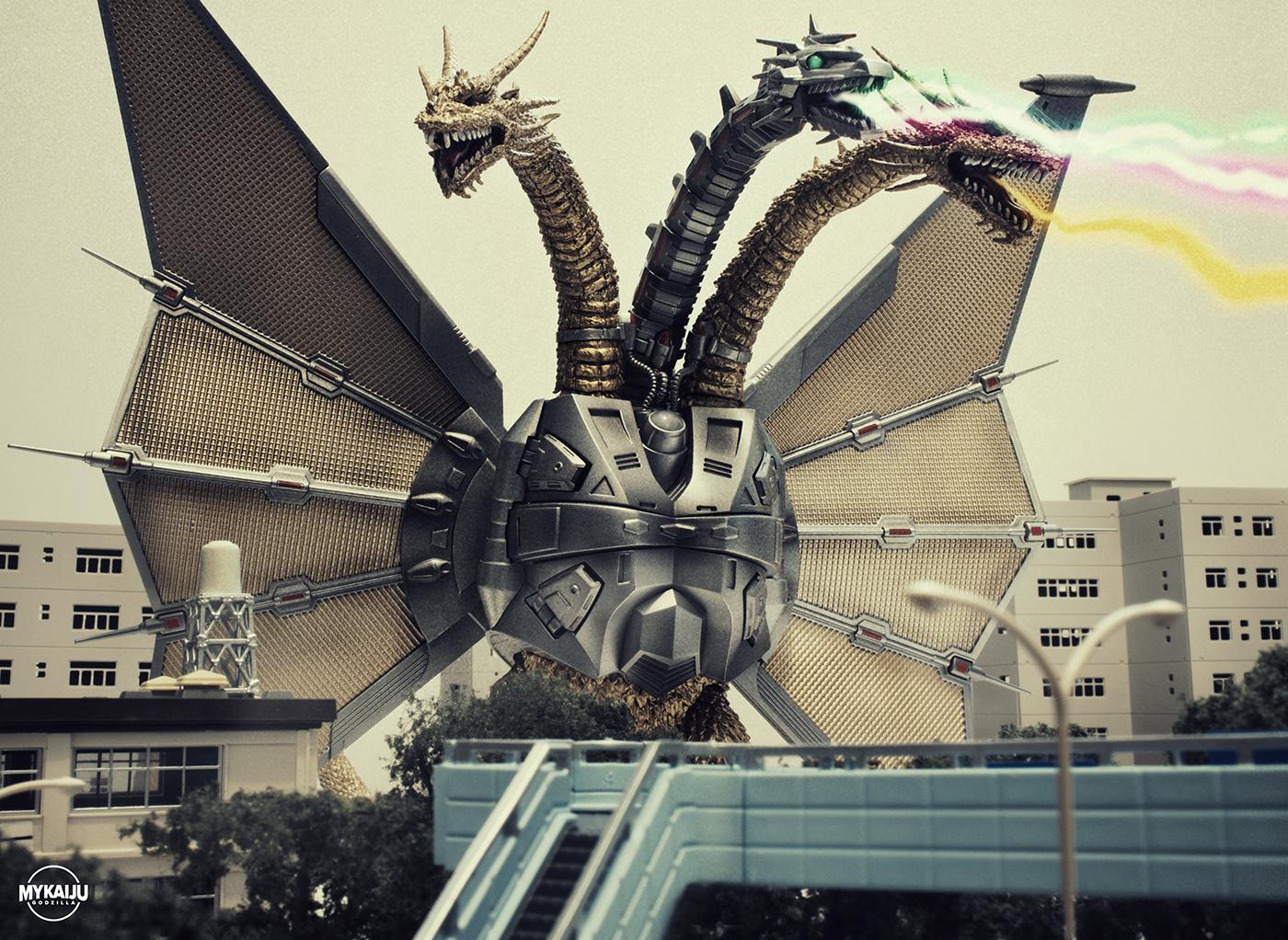 Godzilla Vs King Ghidorah Toys