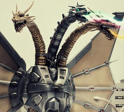 MyKaiju Godzilla | Mecha Ghidorah
