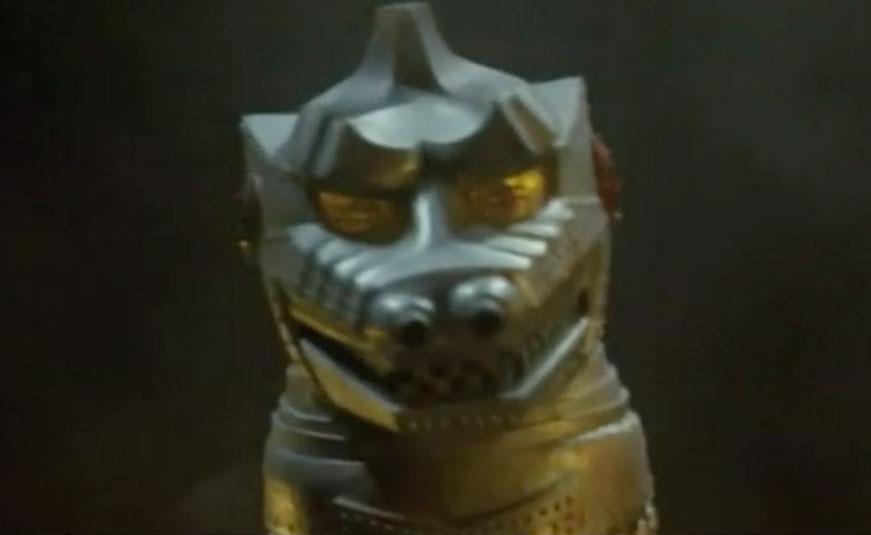Face of MechaGodzilla