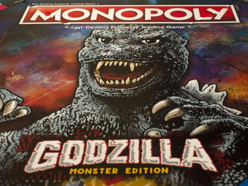 MONOPOLY® Godzilla Game Board