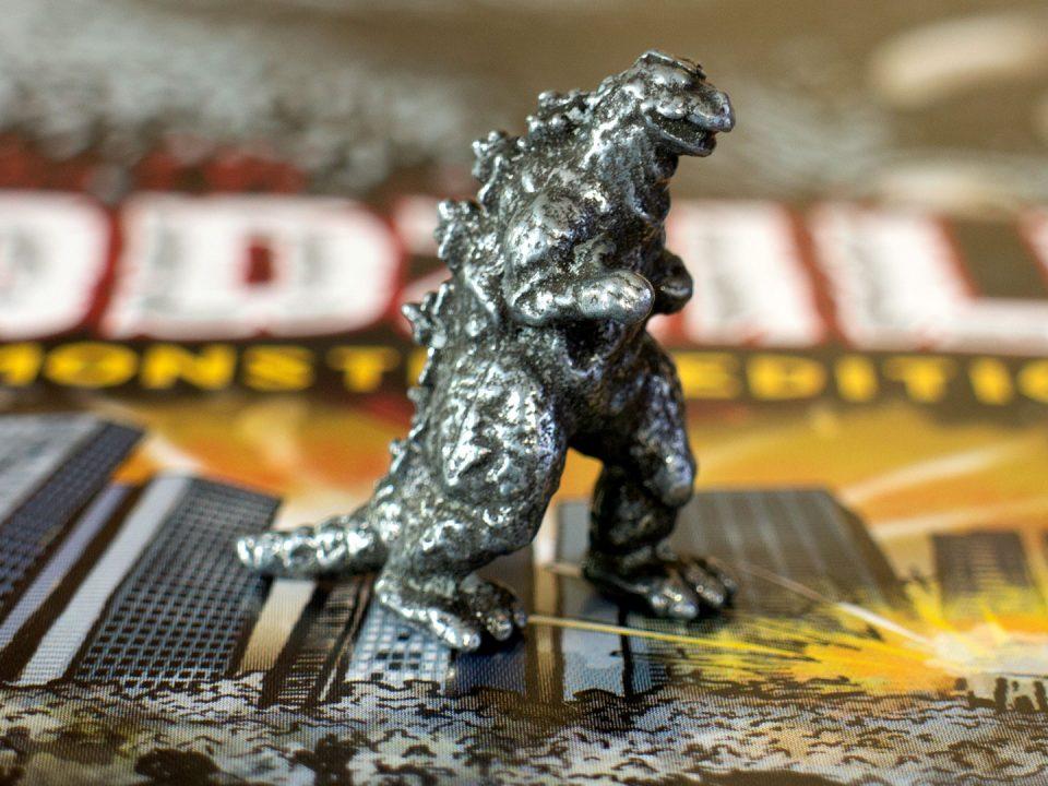 MONOPOLY® Godzilla token