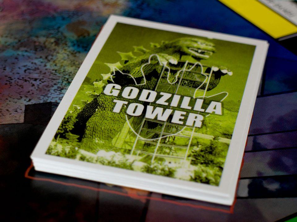 MONOPOLY® Godzilla Tower (back)