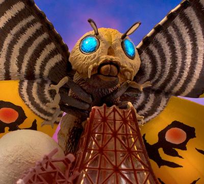 MyKaiju Godzilla | Mothra Appears