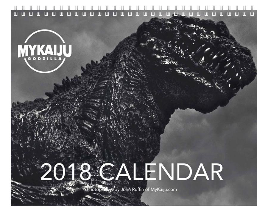 MyKaiju 2018 12-Month Calendar