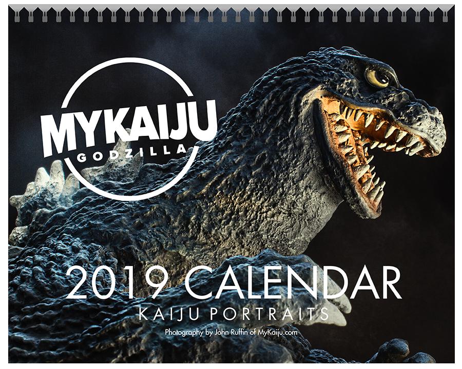 MyKaiju 2019 Calendar - Showa Kaiju Edition