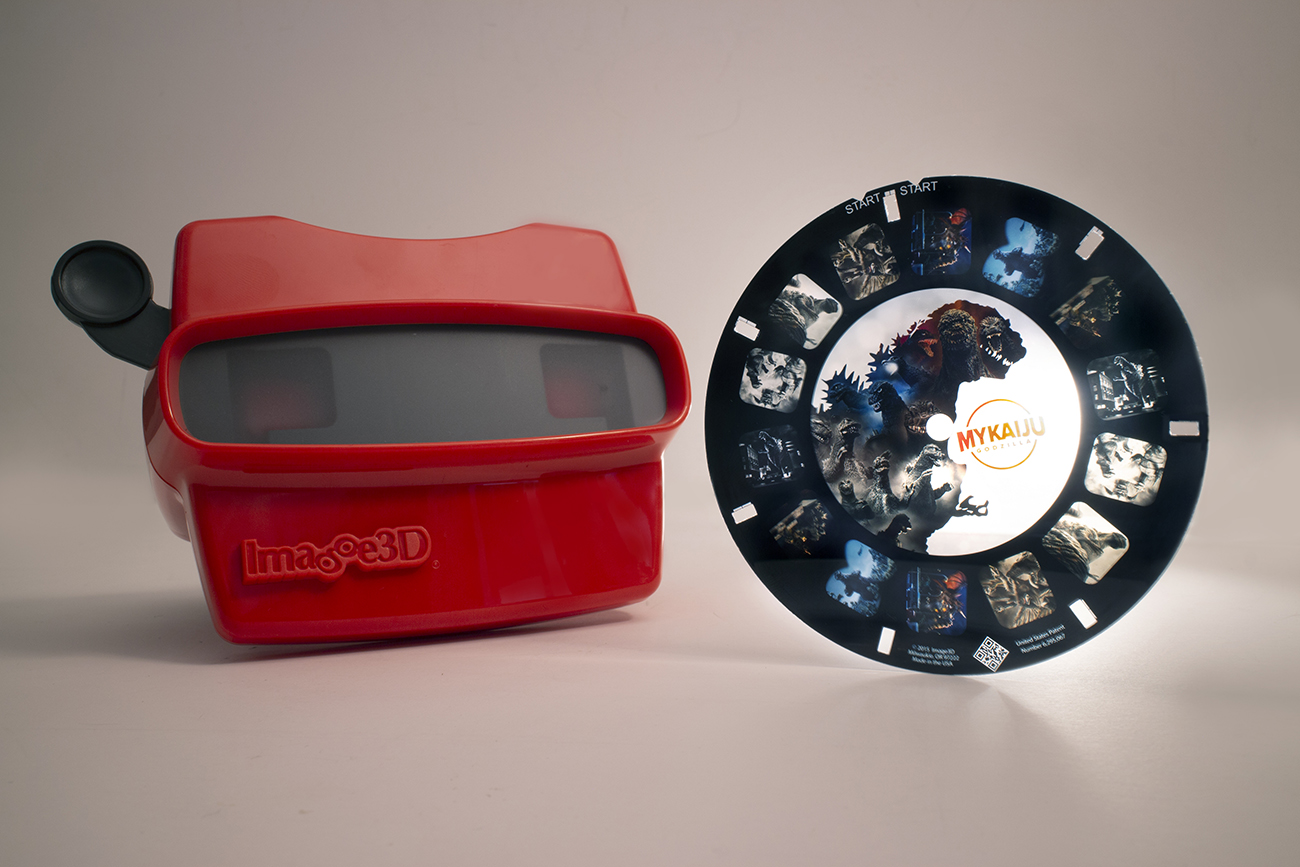 MyKaiju Image3D viewer and reel