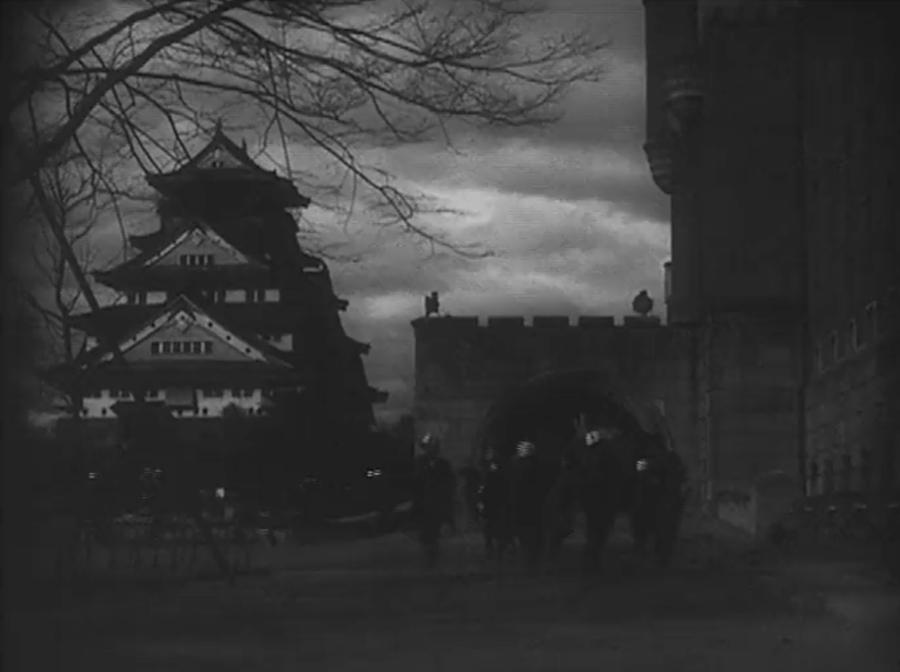 Osaka Castle (Godzilla Raids Again 1955)