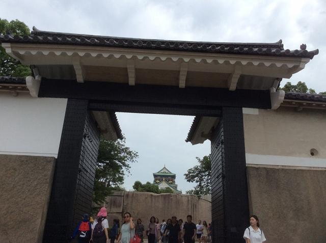 Osaka Castle Sakuramon Gate