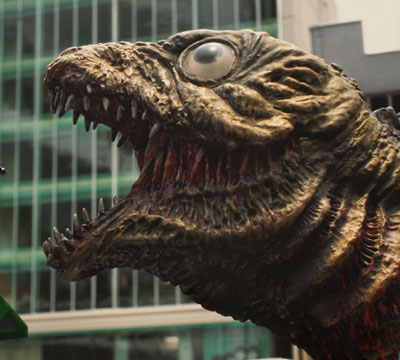 Shin Godzilla 2nd Form street view