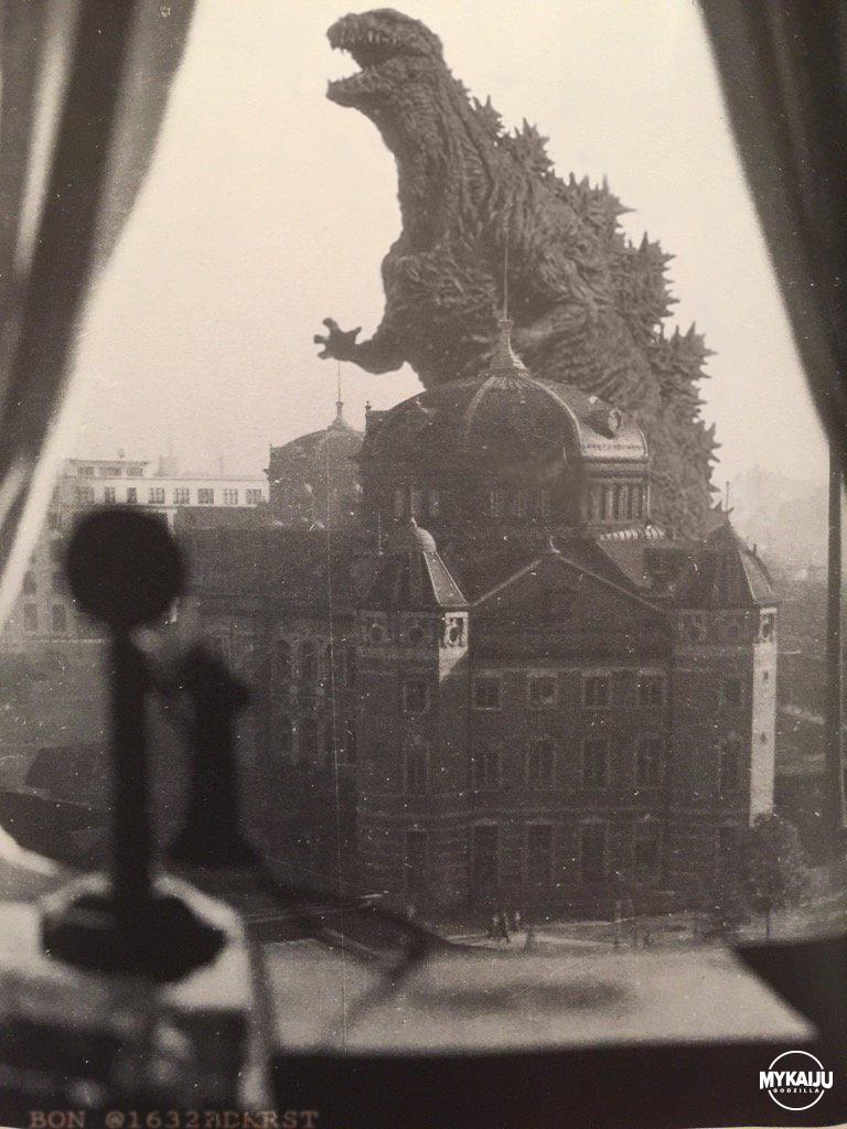 Shin Godzilla in old Japan