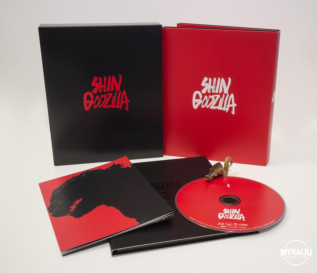 Blu-ray 4K Ultra Shin Godzilla