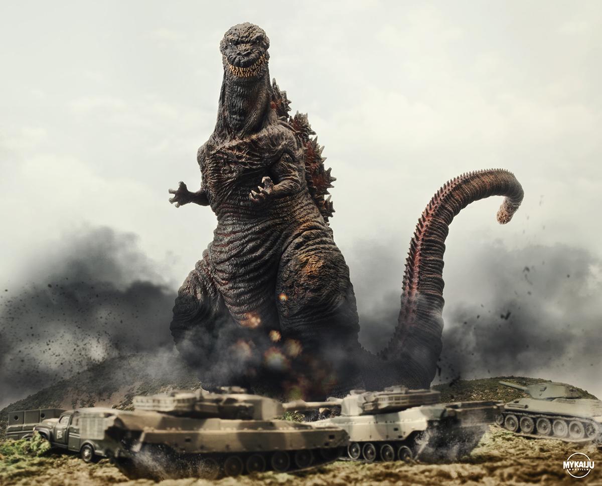 X-Plus Shin Godzilla Scene
