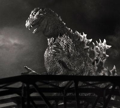 Shodai Godzilla dedicated to Haruo Nakajima