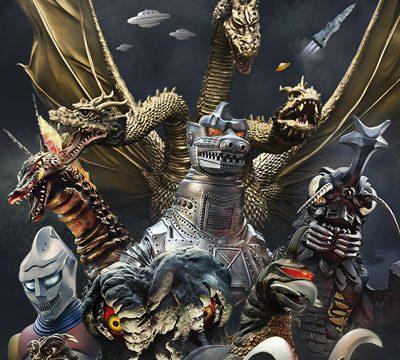 Showa Godzilla Kaiju Tree
