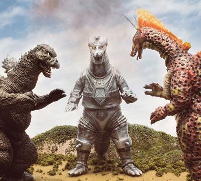 MyKaiju Godzilla | Titanic Trio