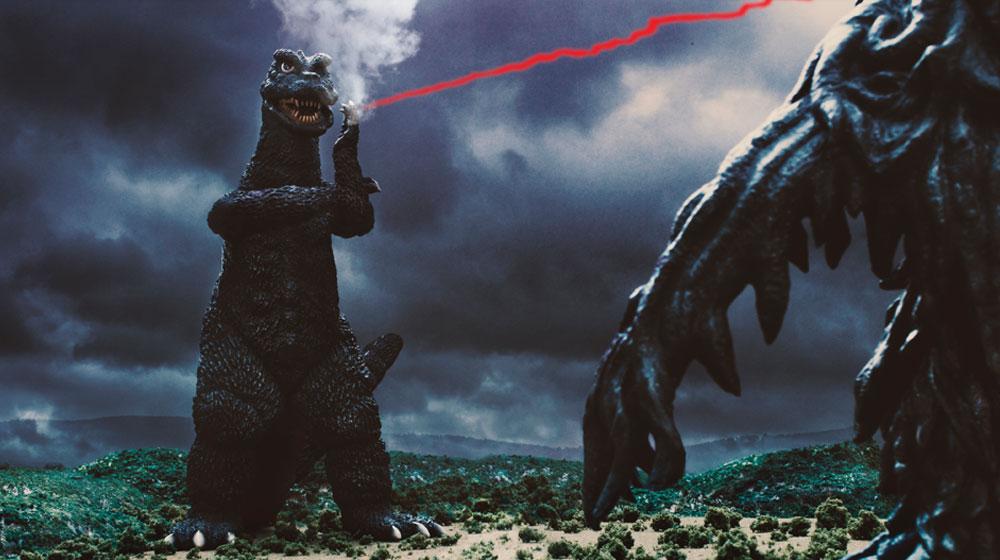 Godzilla Strikes A Pose