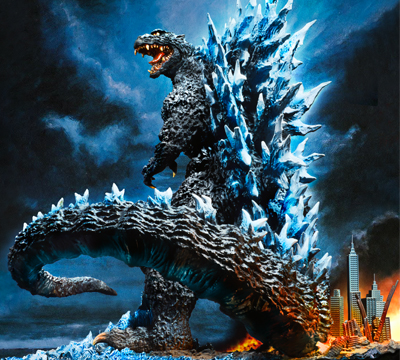 X-Plus RMC Yuji Sakai Best Collection Godzilla (2004)