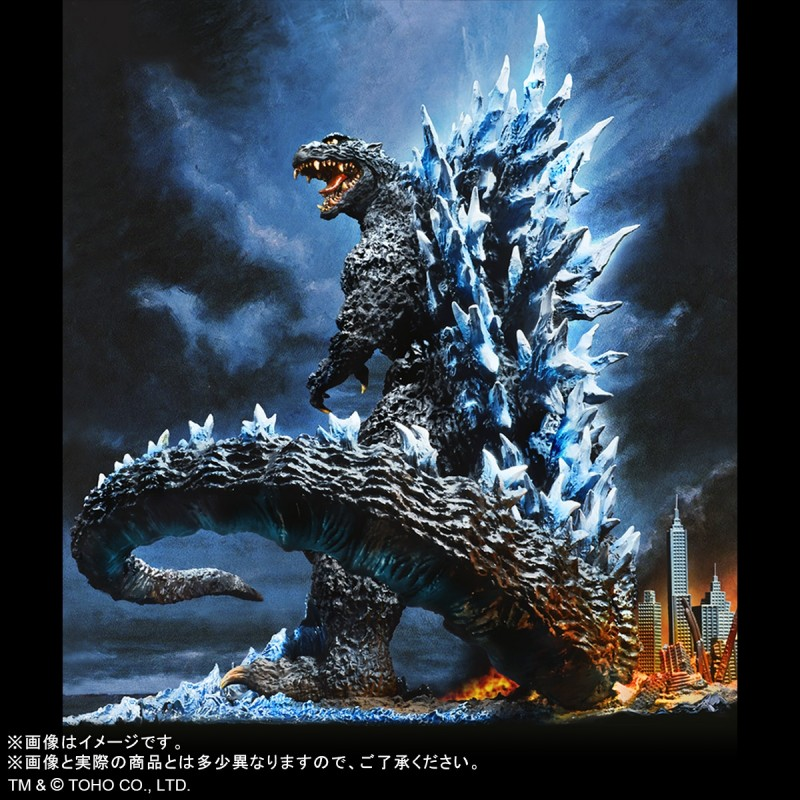 "X-Plus RMC Yuji Sakai Best Collection Godzilla (2004) Poster Version ""Goodbye, Godzilla"" Shonen Ric Exclusive"