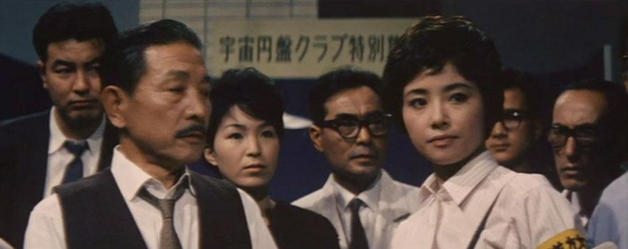 Yuriko Hoshi as Junko Nakanish in Mothra vs Godzilla