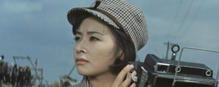 Yuriko Hoshi as Naoko Shindo in Ghidorah The Three-Headed Monster